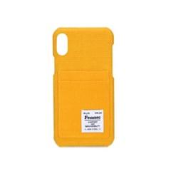 [1/28예약배송]FENNEC C&S iPHONE XR CARD CASE - YELLOW