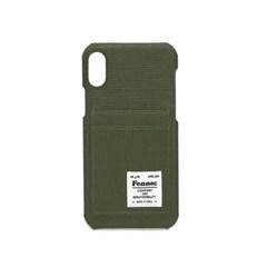 [1/28예약배송]FENNEC C&S iPHONE XR CARD CASE - KHAKI
