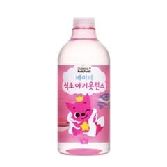 베비언스 핑크퐁 안심식초 아기옷 린스 1L 2개_(2292158)