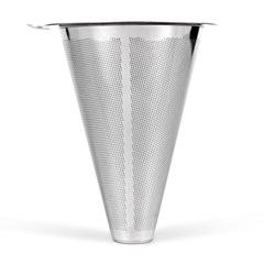 [칼딘] 2중망 스테인리스 필터 커피 드리퍼 드립퍼 SD-05 1~4인용