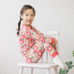 튼) 봄봄플라워 주니어 실내복(봄신상)