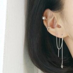 'C type' ear-cuff