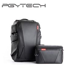 PGYTECH OneMo 카메라 백팩 25L 숄더백 포함 Black /K