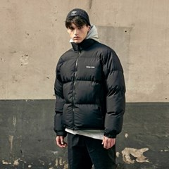 Light Puffer Short Parka_Black