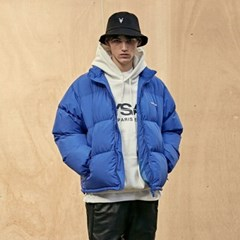 Light Puffer Short Parka_Blue
