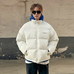 Light Puffer Short Parka_Ivory