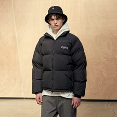 Scotch Puffer Short Parka_Black