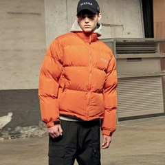 Scotch Puffer Short Parka_Orange