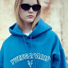 Outline Over Hoodie_Blue
