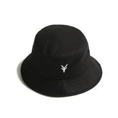 YV Minimal Bucket Hat_Black