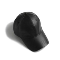 YV Leather Ball Cap_Black