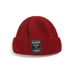 Knitting Short Beanie_Red