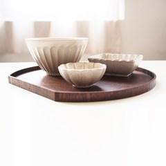화이트 도자기 우동그릇 (면기, 덮밥, 떡국그릇)