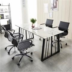 가온 테이블 대리석테이블 테이블세트 회의용테이블_(2470911)