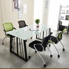회의용테이블세트 철제테이블 가온 테이블 테이블세트_(2470896)