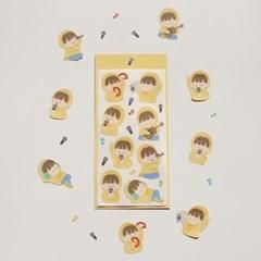노래티콘 씰스티커