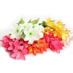 3+2행사 백합 부쉬 고급조화 산소꽃 성묘꽃 납골당꽃