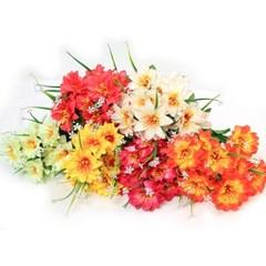 3+2행사 다알리아 부쉬 고급조화 산소꽃 성묘꽃 납골당꽃