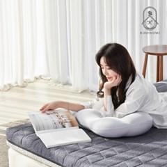 로미홈 9존 마약매트리스 침대 접이식 바닥 토퍼 (MS/SS/Q)