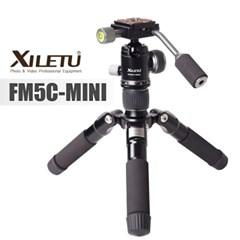 XILETU 삼각대 FM5C-MINI 유튜브 여행자 카메라 스마트폰 촬영장비