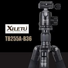 XILETU 삼각대 TB255A-B36 유튜브 여행자 카메라 스마트폰 촬영장비
