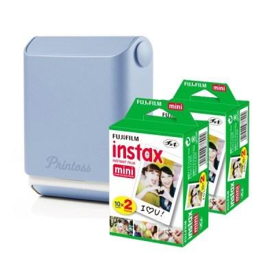 토미 스마트폰 휴대용 포토 프린터 프린토스 + 전용 인화지 40매