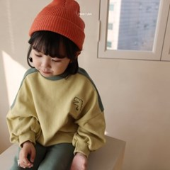 히) 애니멀 아동 상하복