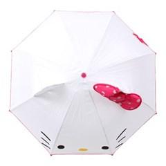 키티 47 입체 키티 리본 우산