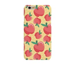 Apple Illustration (HE-140B) Hard Case