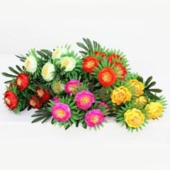 3+2행사 목단아레카 부쉬 고급조화 산소꽃 성묘꽃 납골당꽃