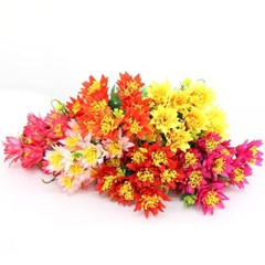 3+2행사 파인애플꽃 부쉬 고급조화 산소꽃 성묘꽃 납골당꽃