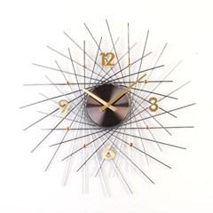 [Momenti]모멘티 헤라 니켈골드 무소음벽시계(1371050)