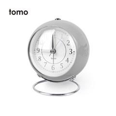 [Tomo]토모 켄트 저소음 탁상시계_그레이 /알람시계/_(1371436)