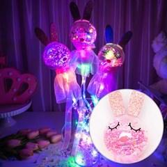 LED 클리어 요술봉 토끼 [색상랜덤]_(11938146)