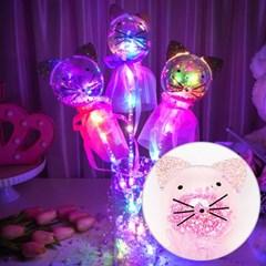 LED 클리어 요술봉 고양이 [색상랜덤]_(11938145)