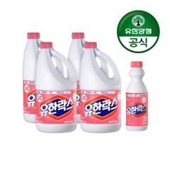 [유한양행]후로랄 2L x 4개+후로랄500mL