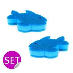 [Vigar]비가 펠릭스 물고기 수세미 2P 세트/ VIG-9652_(1373177)