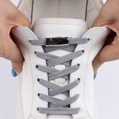 매듭없는 신발끈 운동화끈 원터치신발끈 매직자석신발끈