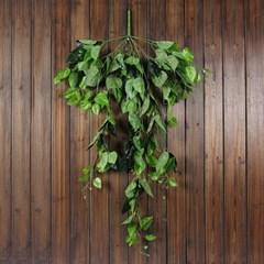 초록 잎사귀 조화 넝쿨/벽장식 조화넝쿨 담쟁이 덩쿨