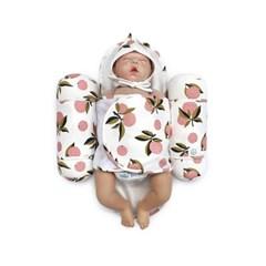 애기바당 신생아 기능성속싸개 모드락속싸개 [분홍귤패턴]