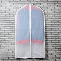 PEVA 지퍼식 옷커버세트(대)3p/양장점납품용 양복커버