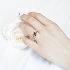 [디유아모르] 18k 반지 블랙스완 링_(1086411)