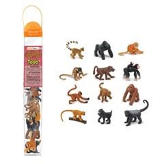 [사파리엘티디] 680604 원숭이와유인원-튜브 동물피규어_(1483072)