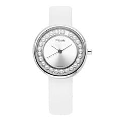 미사키 MISAKI QCRWELLA (ELLA ) 32mm 여성 진주 시계