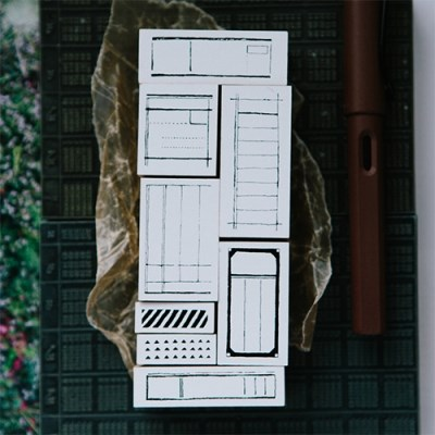 [OURS] Form Label DIY Rubber Stamp
