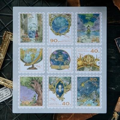 [OURS] Wayfarer stamp sticker