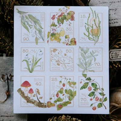 [OURS] Wild plants 2 stamp sticker