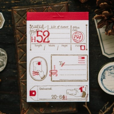 [OURS] Postal Letterpress Label Book