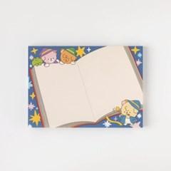 [또자] 마법사 책 댕댕 메모지