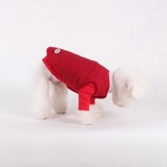 [퀄팅 패딩 베스트]Quilting padding vest_Red